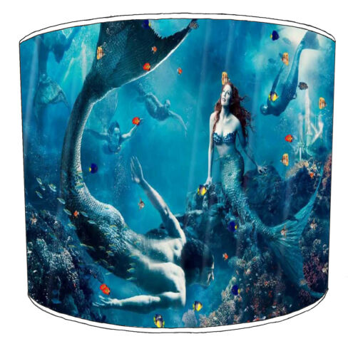 Ideal To Match Mermaids Wallpaper Borders. Mermaids Designs Lampshades