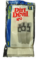 Dirt Devil Broom Vac Vacuum Cleaner Type E Bags