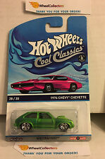 1976 Chevy Chevette GREEN * PINK OTTO Card * Hot Wheels Cool Classics * N121