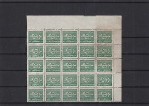 finland 1943 military fieldpost mnh stamps block ref 11307