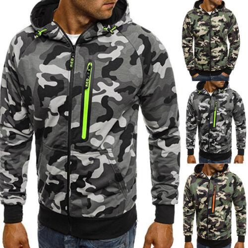 Men/'s Winter Slim Hoodie Warm Hooded Men Sweatshirt Jacket Outwear Sweater