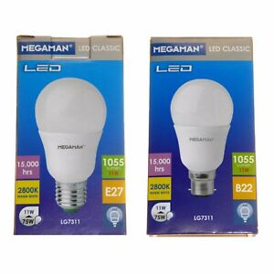 11w Led Gls Lamp 75 Watt Low Energy