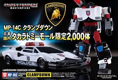 Takara Transformers MP-14C Lamborghini