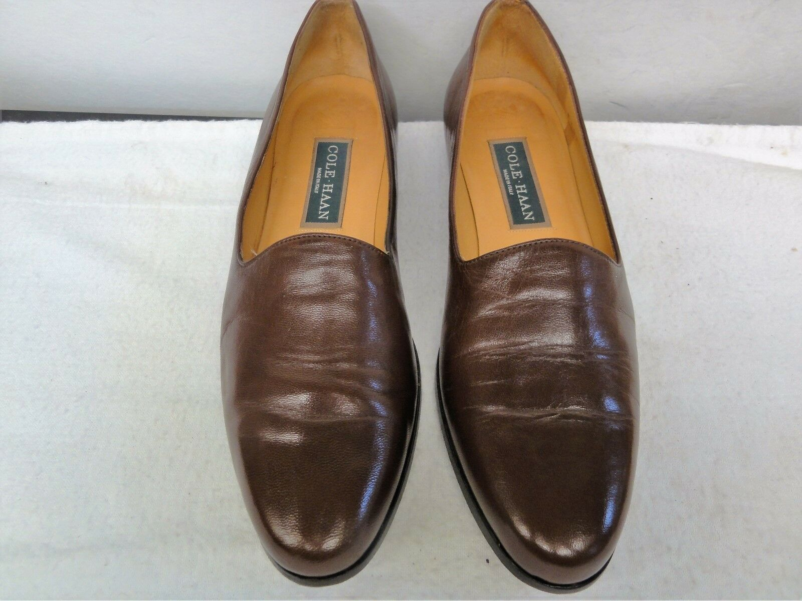 1e59a7605f72 Ladies pair of Cole brown size 8.5 AA loafers Haan noopms7219-Women s  Comfort Shoes