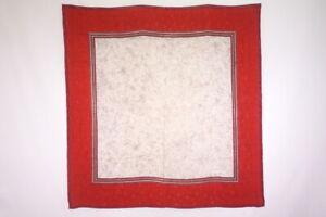 Christian-Dior-105-cm-Large-Format-Scarf-Silk-Houndstooth-Shawl-Red-1467k
