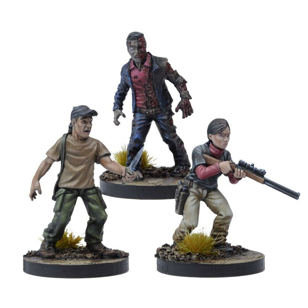 THE WALKING DEAD ALL OUT WAR - LILLY BOOSTER - MANTIC - WAVE 4 - SHIPPING NOW