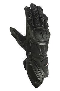 Motorradhandschuhe-Herren-Biker-Motorrad-Lederhandschuhe-Sportlich-Handschuhe