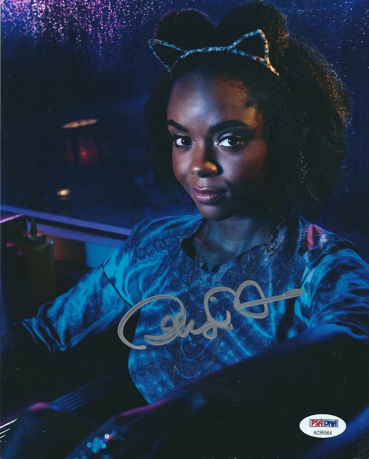 Ashleigh Murray Signed Riverdale 8x10 Photo *Actress *Josie McCoy PSA AC95564