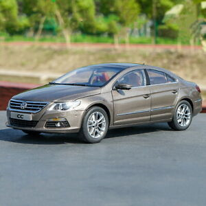 1-18-Scale-VW-Volkswagen-CC-2010-Gold-Diecast-Car-Model-Toy-Collection