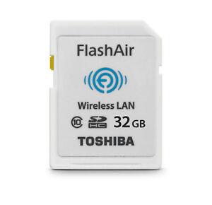 Toshiba-Wireless-LAN-SDHC-Speicherkarte-32GB-FlashAir-Class-10