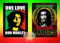 Bob Marley Roots Of Reggae Soft Plush One Love Fleece Throw Blanket