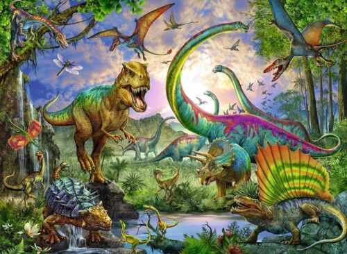 Jigsaw Puzzle Animal Dinosaurs Realm of the Giants 200 pieces NEW