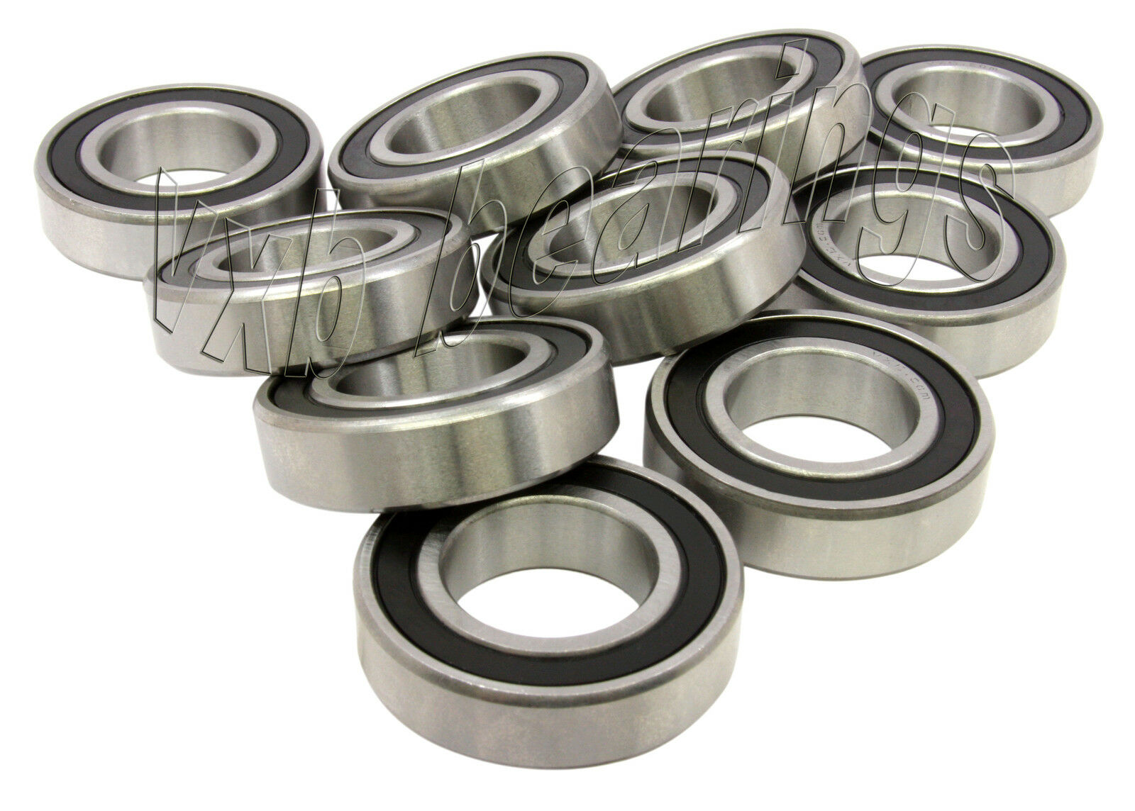 6206ZZ 30x62x16 Shielded 30mm//62mm//16mm 6206Z Deep Groove Radial Ball Bearings
