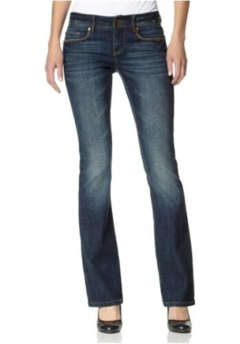 34 Jeans Elasticizzato Tgl Denim Arizona In Donna Svasati Scuro Nuovo Pantaloni RUn7xP7