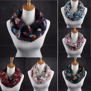 Fashion-Womens-Ladies-Scarves-Owl-Print-Scarf-Warm-Wrap-Shawl-Collar-Voile-Scarf