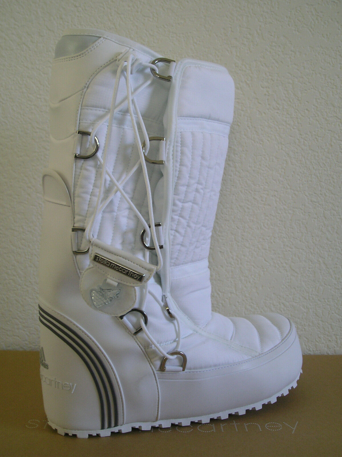 RARE~STELLA McCARTNEY adidas TAHSES WINTER BOOT snow Shoe REMOVABLE LINER~Sz 5.5