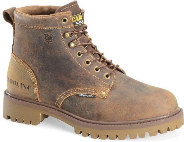 NIB Carolina CA7558 Men's 6 Inch ST Waterproof Old Town Folklore Work Boots