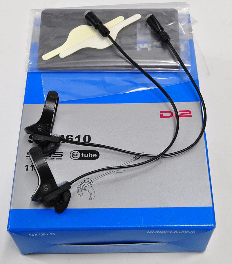 Conmutadores de cambio Shimano Di2 SW-R610 SW-R610 SW-R610 Sprinter 11s para Dura-Ace Ultegra Di2, Nuevo En Caja dc41f9