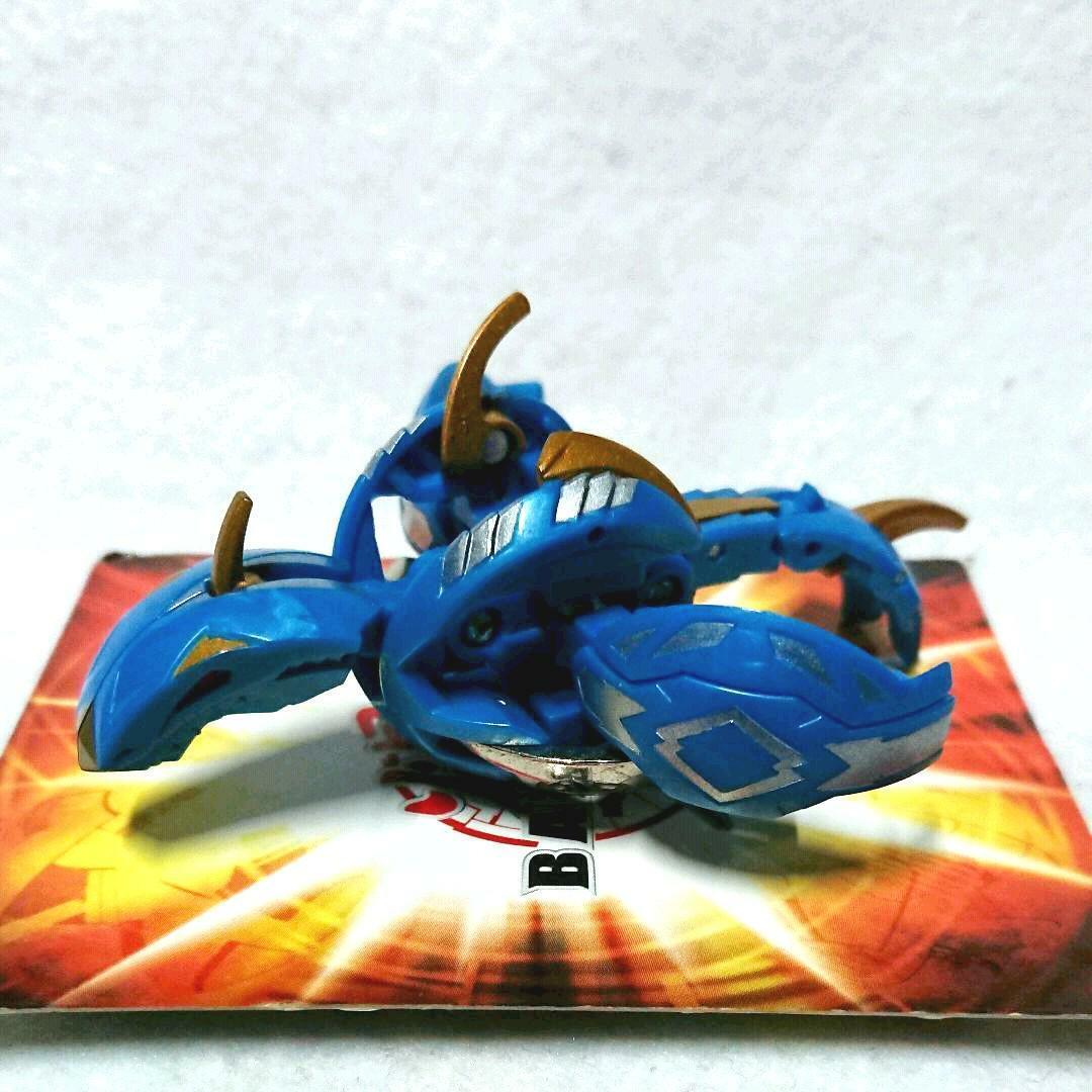 Used Bakugan Baku Tech Killer Volca SEGA toys Gate Ability Card Burning Baster
