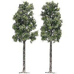 Arbres Trees 2 Pieces 165 mm H0 Scale 1 87 Diorama Model BUSCH