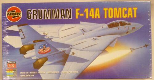 Airfix 1//72 Grumman F-14A Tomcat 2 Seater Fighter Model Kit New