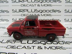 Johnny-Lightning-1-64-Scale-LOOSE-Weathered-Red-1965-CHEVROLET-C10-Pickup-Truck