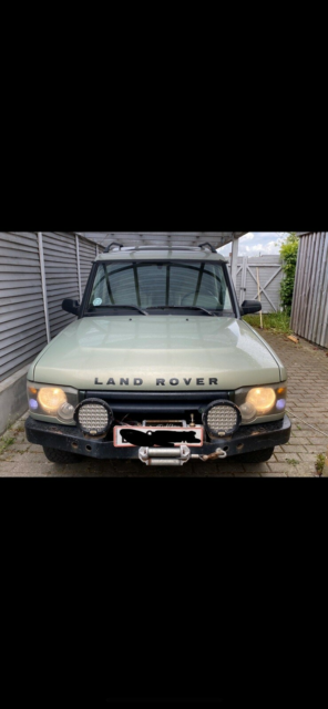 Land Rover Discovery, Diesel, 1998, km 347640, grøn,…