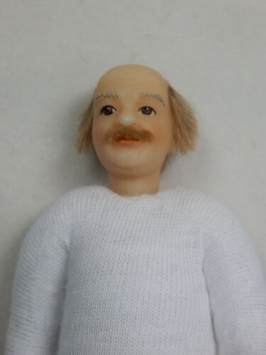"Heidi Ott Dollhouse Miniature Adult Male 6/"" Nude Man with hair blue eyes #XKM10"