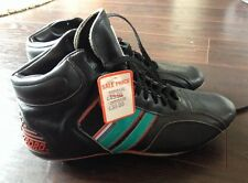 Vintage Retro Leather Football / Rugby Boots Unworn New sz 8 1980s