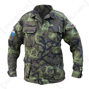 Original-Czech-Field-Jacket-Model-95-Genuine-Military-Army-Surplus-Uniform-Top