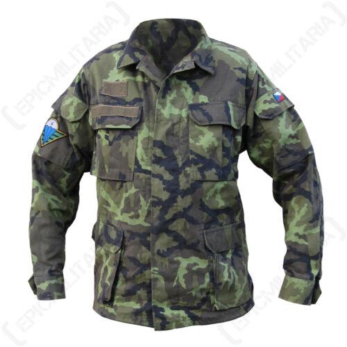Genuine Military Army Surplus Uniform Top Original Czech Field Jacket Model 95