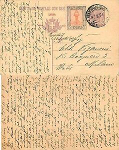 1368-Colonie-Libia-Valori-gemelli-su-intero-postale-per-Milano-16-08-1929