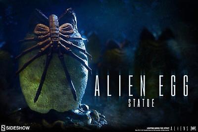 Genteel Sideshow Alien Collectibles Alien Egg Ovomorph Statue Aliens Statue Lights Up Science Fiction & Horror