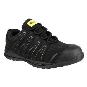 Amblers-FS40C-Negro-para-Hombre-Damas-entrenadores-de-seguridad-no-sea-metalico-2-13