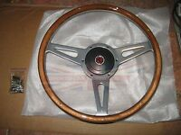 14 Wood Steering Wheel And Adaptor For Mgb 1970-1976 Mg Midget 1970-1977