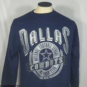 Vintage Men s Nutmeg Mills 90s NFL Dallas Cowboys Crewneck ... 9e3ed7500