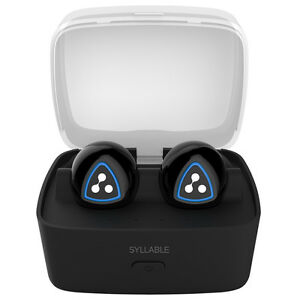 SYLLABLE D900S Stereo Bluetooth Earphone with Charging Dock