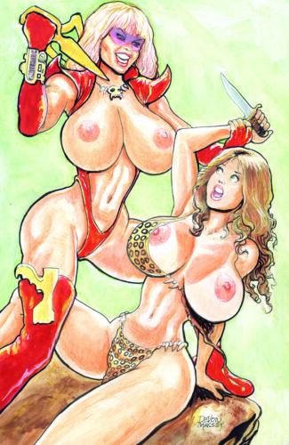 NM+ New SE Nude Cover Nice 2019 Devon MASSEY CAVEWOMAN TARGET ANKHA #1B
