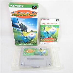 NAMCOT-OPEN-Golf-Super-Famicom-Nintendo-bcb-sf