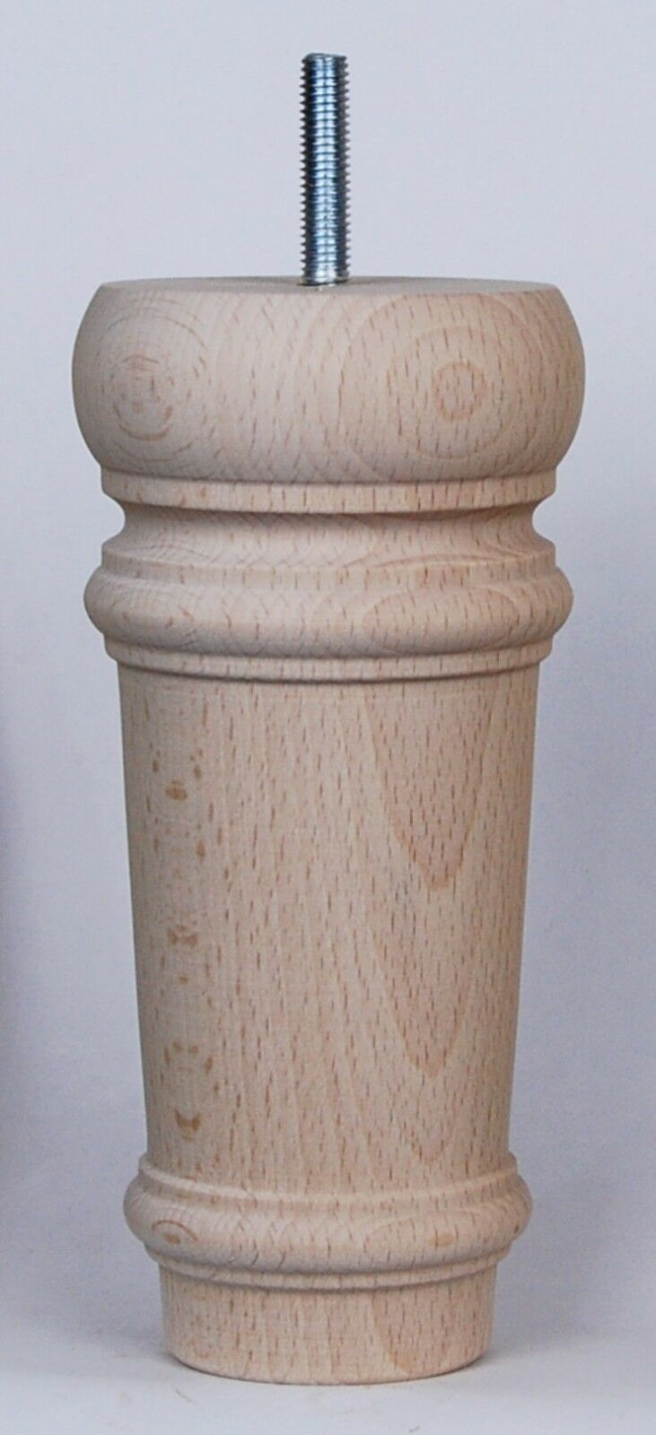 4 Unpolished Classical Wooden Furniture Legs, E800 H=165mm Sofa, Footstool Chair