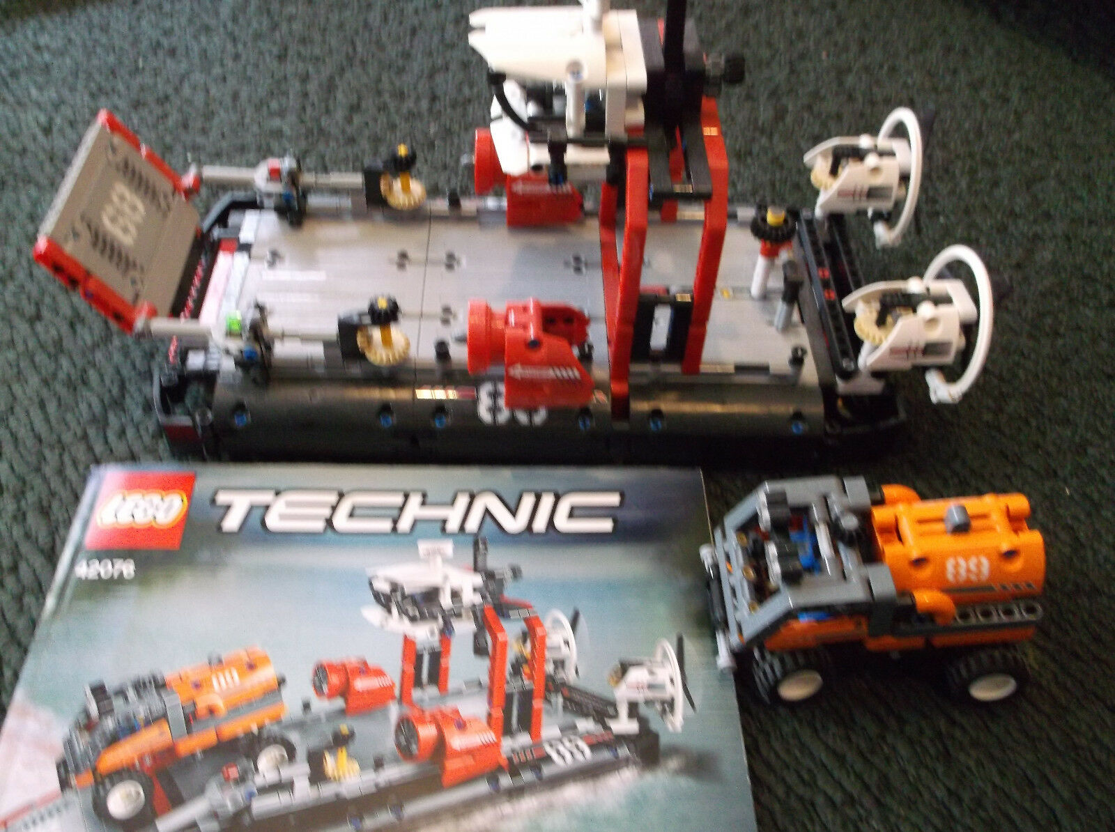 LEGO Technic Hovercraft 2018 (42076) (42076) (42076) - 2 in 1 complete a31ee5