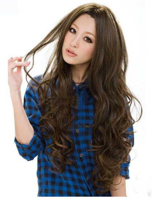 Cool2day Womens Long Wavy Curly Natural Hair Cosplay Party Costume Wig+Free Cap
