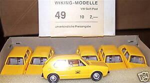 VW-Golf-Post-Posthorn-Druck-WIKING-1-87-a