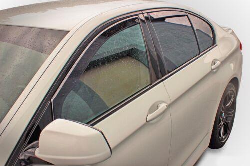 DBM11114 BMW 5 E39 5 puerta Estate 1995-2004 viento desviadores 4pc Heko Teñido