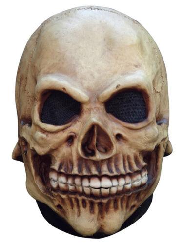 SKULL REALISTIC LATEX HORROR HALLOWEEN HEAD MASK