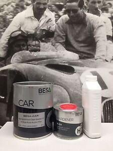 Peinture-carrosserie-1L-Appret-garnissant-BESACAR-durc-diluant-1-5L-2-kg