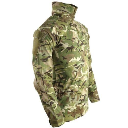 Armée Britannique Style Spec Ops Ubac SHIRT avec coudières homme S-2XL MTP BTP Camouflage