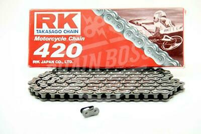 RK Chains 525 x 108 Links HD Standard Series  Non Oring Natural Drive Chain