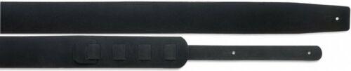 Länge SLPL 15 BLK 6,5cm Gitarrengurt gepolstert schwarzes Wildleder 125-144cm