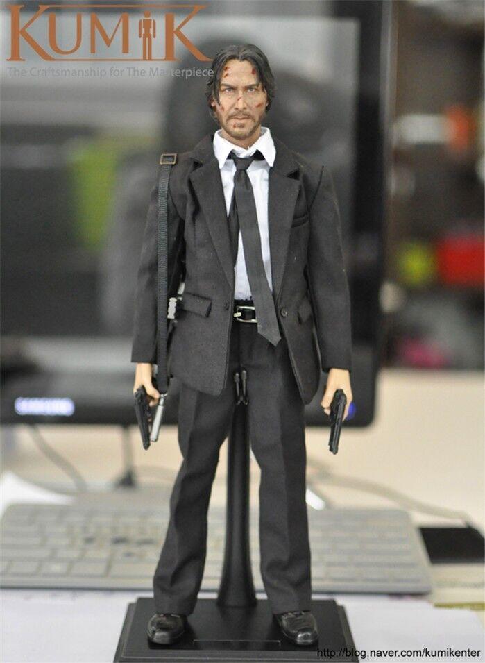 1   6 - skala kumik kmf037 männliche action - figur keanu reeves modell spielzeug als geschenk